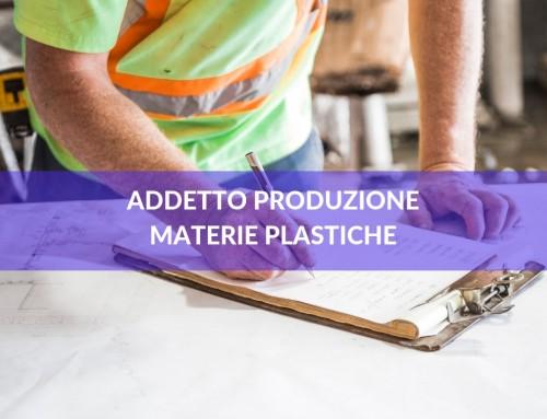 Addetto alla produzione di materie plastiche e gomma