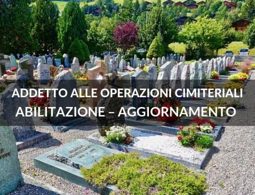 Addetto alle Operazioni Cimiteriali
