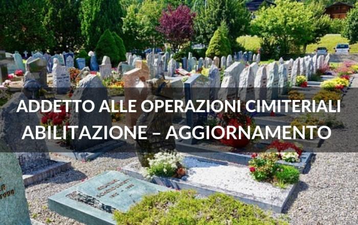 corso operatore cimiteriale