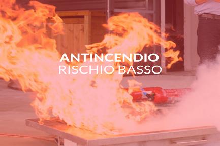 CORSO ADDETTO ALLE EMERGENZE E ANTINCENDIO RISCHIO BASSO